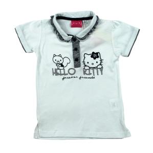 Блузка с якичка Hello Kitty