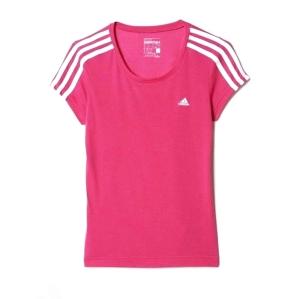 Детска тениска в цикламен цвят Adidas climalite/подходяща и за Мами/