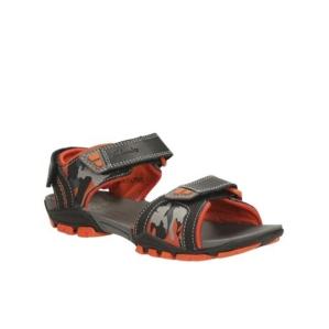 Детски сандали за  момче Clarks Zalmo Go Jnr Black Combi Lea