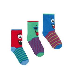 Чорапи с човечета Cotton Rich
