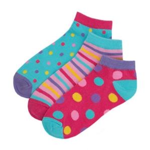 Чорапи на райе и точици. Цената е за 3 бр.