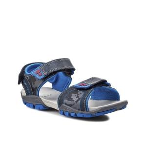 Детски сандали за  момче Clarks Zalmo Go Inf Navy Combi Lea