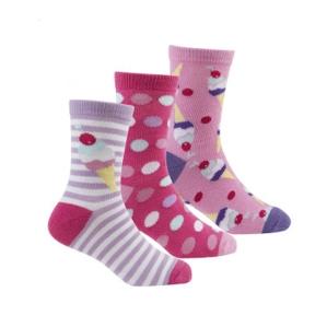 Чорапи на точки и сладоледчета