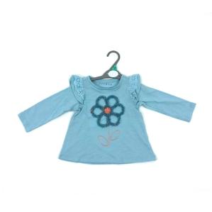 Детска блуза с цвете Nutmeg