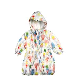 Детско тънко яке за момичета  със сладоледчета  M&S