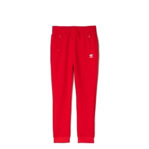 Детско долнище в червено Adidas
