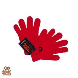 Ръкавички в цикламен цвят