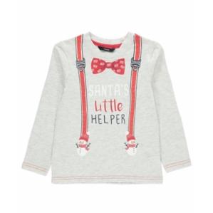 Детска блузка с коледни мотиви за момче George