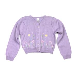 Детска жилетка M&S в бледо лилав цвят