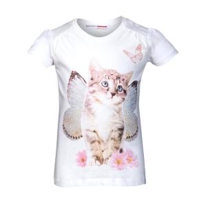 Детска  тениска с коте Minoti