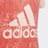 Тениска в прасковен цвят Adidas