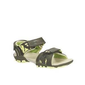 Детски сандали за  момче Clarks Zalmo Go Jnr Khaki Combi Lea