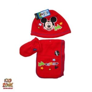 Комплект-шапка с ръкавички и шалче Disney