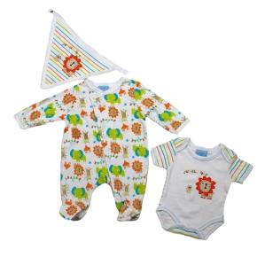 Бебешки комплект от три части Bebe Bonito