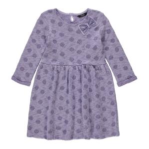 Рокля фино плетиво в лилаво George