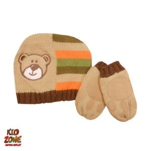 Комплект от шапка и ръкавички ех- Adams