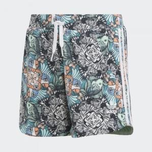 Детски къси панталони за момиче Adidas J ZOO SHORTS D98911
