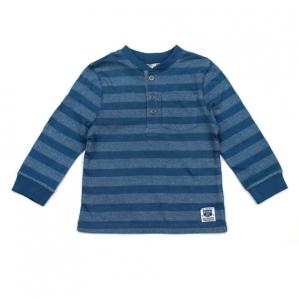 Тъмно синя блузка на райе F&F