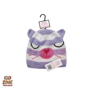 Шапка-коте в лилаво