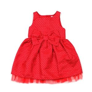 Детска рокля в червен цвят Mini Club