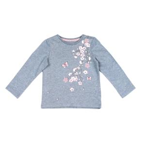 Детска блуза с цветя и пеперуди F&F