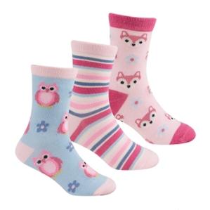 Чорапи с животинки, цената е за 3 бр.