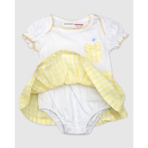 Нежна бебешка рокличка Minoti