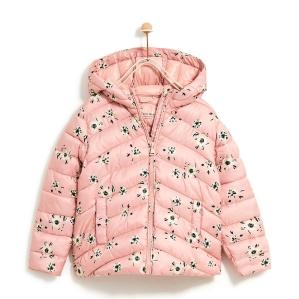 Детско яке на цветя Zara Kids