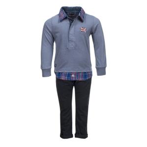 Елегантно комплектче панталонче с блузка