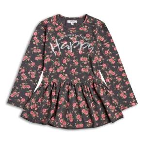 Блузка-туника  на цветя Sugar Squad