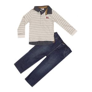 Комплект от блузка и дънки M&CO
