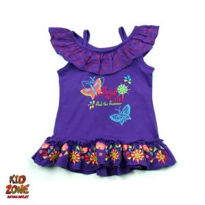 Туника в лилаво с пеперудки C&A