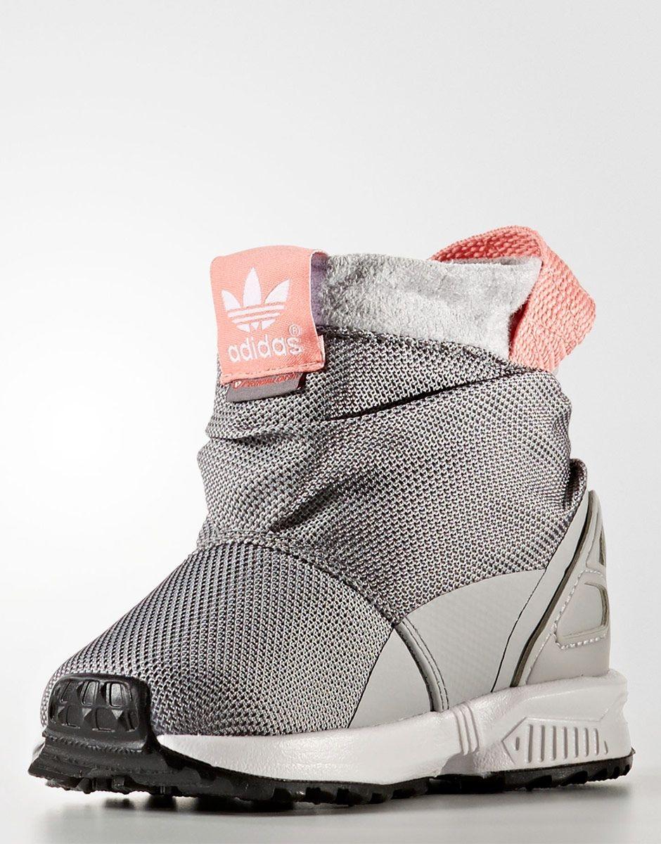 Детски ботуши за момиче Adidas ZXFlux Boot TR I  BY9066