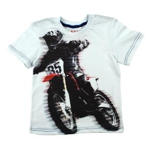Тениска с моторист