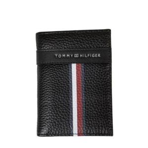 Картодържател  Tommy Hilfiger Black Corporate Mini Bifold AM0AM04806 002
